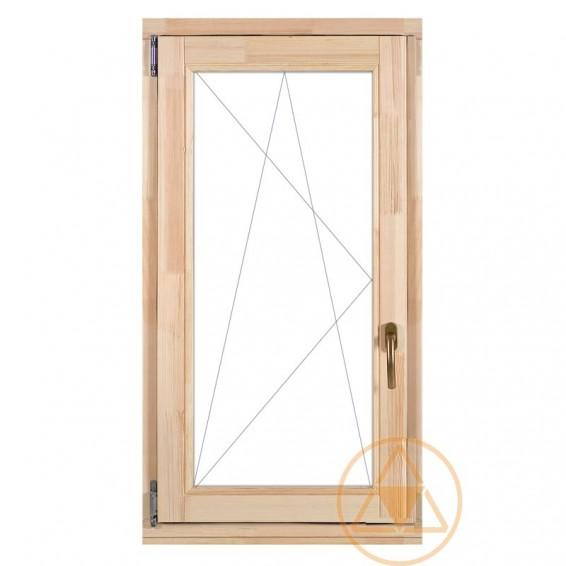 Delta-therm bukó-nyíló normál fa ablak és fa erkély ajtó