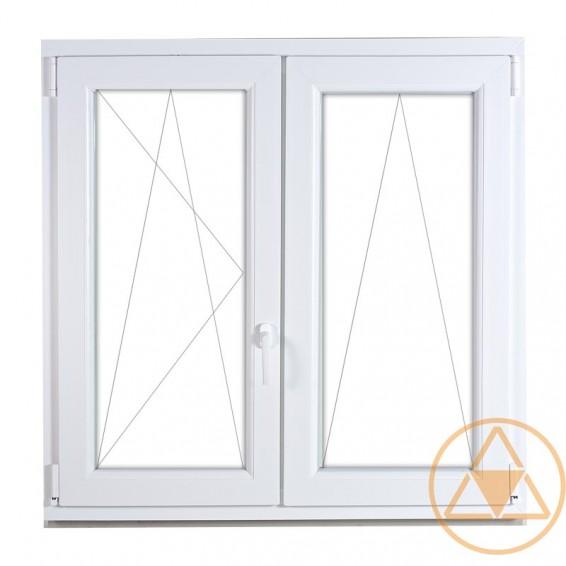 Delta Classic műanyag ablak és erkély ajtó (középenfelnyíló-bukó-nyíló)