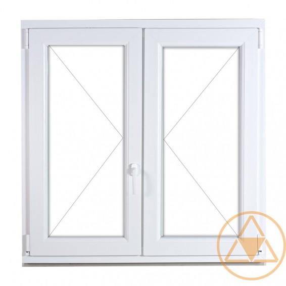 Delta Classic műanyag ablak és erkély ajtó (középenfelnyíló)